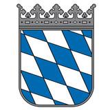 Fototapety Notar Wappen – Bayerisches Staatswappen