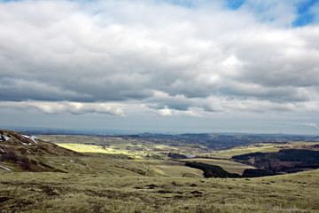 View from Holme Moss, looking towards Holmfirth
