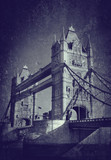 grunge tower bridge