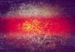 grunge red strip