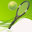 tennis background-modern style wave background