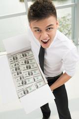 How much money!