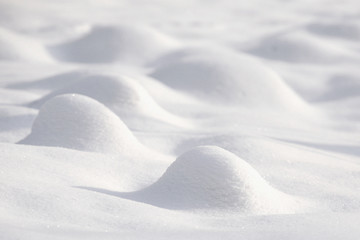 Snow surface, snow background