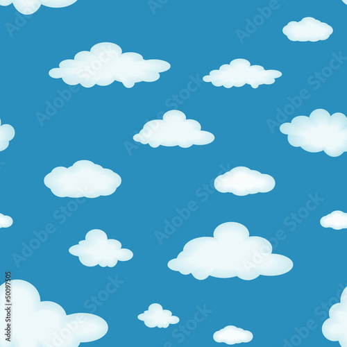Aluminium Hemel Cloudy background