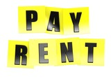 Pay rent in yellow note