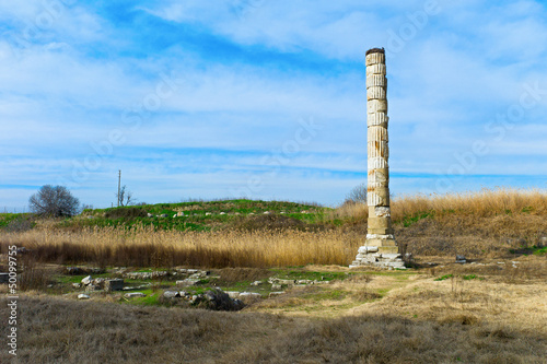 Temple of Artemis ruins, Selcuk, Turkey