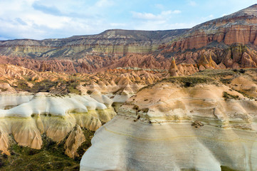 Rose Valley in Cappadocia, Turkey