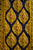 Ancient Golden Wallpaper of Buddhism temple