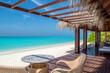 Leinwanddruck Bild - Tropical Beach