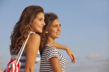teens on vacation or spring break