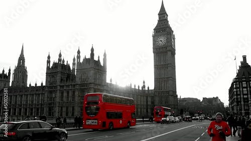 London black/red