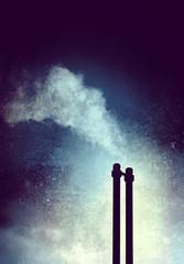 chimney textured background
