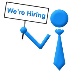 We Are Hiring Signboard