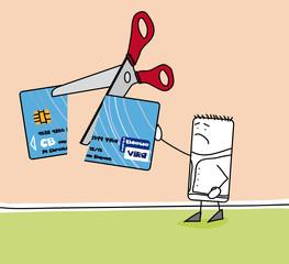 Personnage interdit bancaire