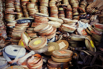 Old film canisters