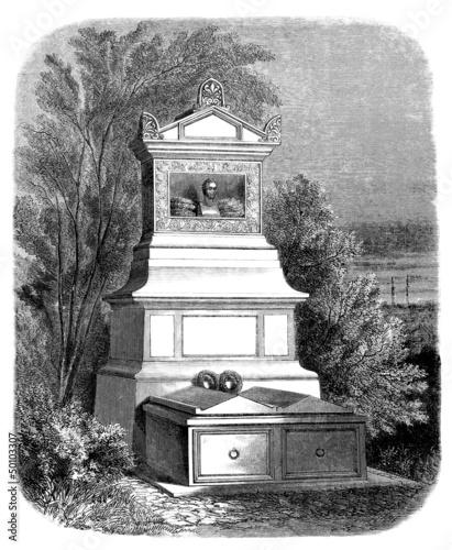Romantic Grave - 19th century