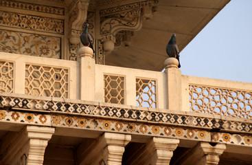 Balkon rotes Fort