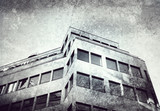 grunge office building