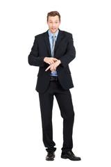 junger business mann