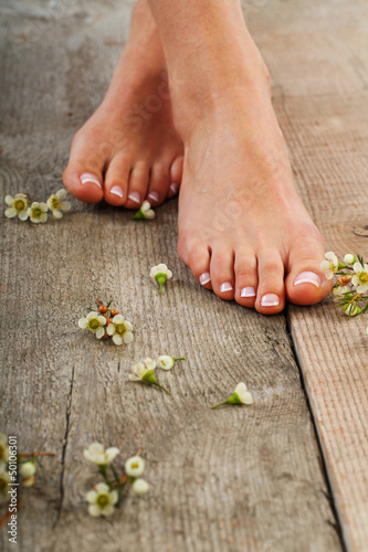 canvas print picture Pedicure