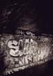 underground graffiti wall