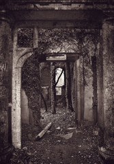derelict doorways