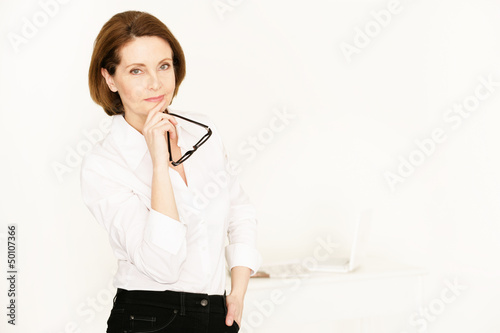 elegante Businessfrau