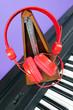 casque piano et métronome