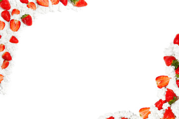 cornice di fragole