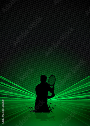 Tennis sport background