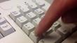 Battitura su tastiera numerica