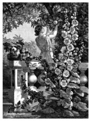 Garden Scene - Antiquity