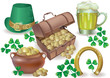 Saint Patricks Day set