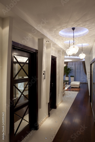 Corridor in modern apartment