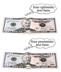 optimistic or pessimistic, 50 dollar set