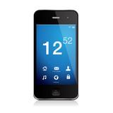 Mobile phone with icons, smartphone original design