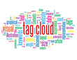 """TAG CLOUD"" Tag Cloud (keywords tags indexing website contents)"