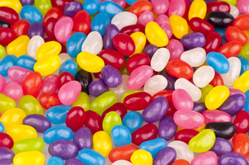 close up of jelly beans