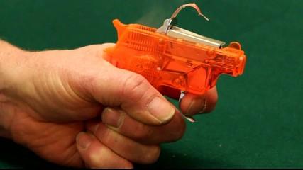plastic cap gun