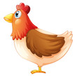 The fat mother hen