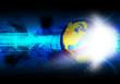 global communication technology background