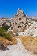 Cave city in Cappadocia Turkey