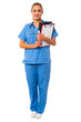 Elegant medical professional in uniform