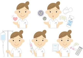 看護師の女の子