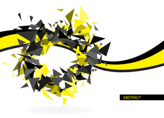 Abstract hi-tech background