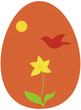 Easter or Ostara egg