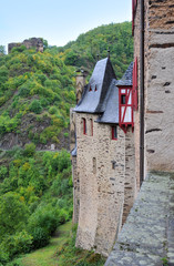 Towers of lock of Eltz in Germany