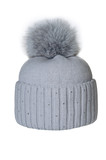 Winter hat isolated on white background.