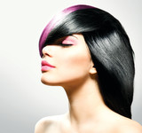 Fototapety Fashion Hair. Hairstyle