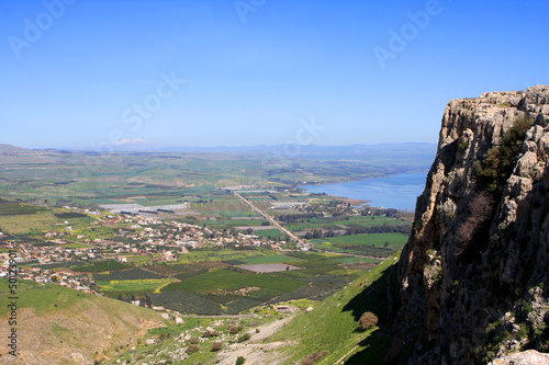 View of Israel from Arbel mount